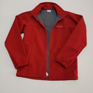 Men's new Columbia Thermal Coil Red Jacket size Sm